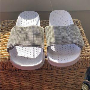 Men's slides aldo gray size 13